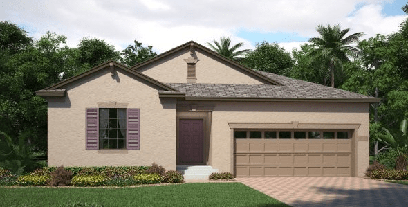The-Oaks-at-Shady-Creek/Eastham 2,065 sq. ft. 4 Bedrooms 3 Bathrooms 2 Car Garage 1 Story Riverview Florida