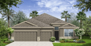 Belmont/Belmont-Executive The Kennedy II  2,277 sq. ft. 4 Bedrooms 3 Bathrooms 3 Car Garage 1 Story Ruskin Florida