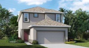 Vista-Palms-Manors/The Hemingway 2,574 sq. ft. 5 Bedrooms 3 Bathrooms 2 Car Garage 2 Stories Wimauma Fl