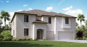 Sereno/Sereno-Estates/The Himalayan  4,054 sq. ft. 7 Bedrooms 4 Bathrooms 3 Car Garage 2 StoriesWimauma Fl
