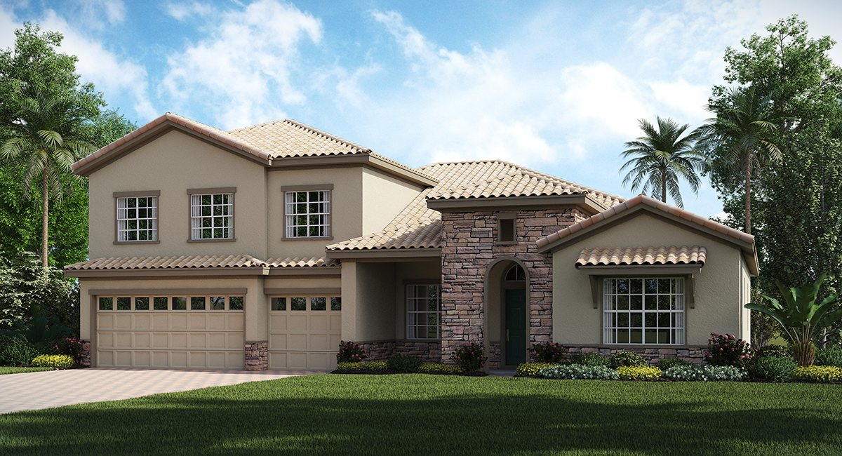 ChampionsGate Florida/The Grande Charleston 3,353 sq. ft. 4 Bedrooms 4 Bathrooms 3 Car Garage 2 Stories