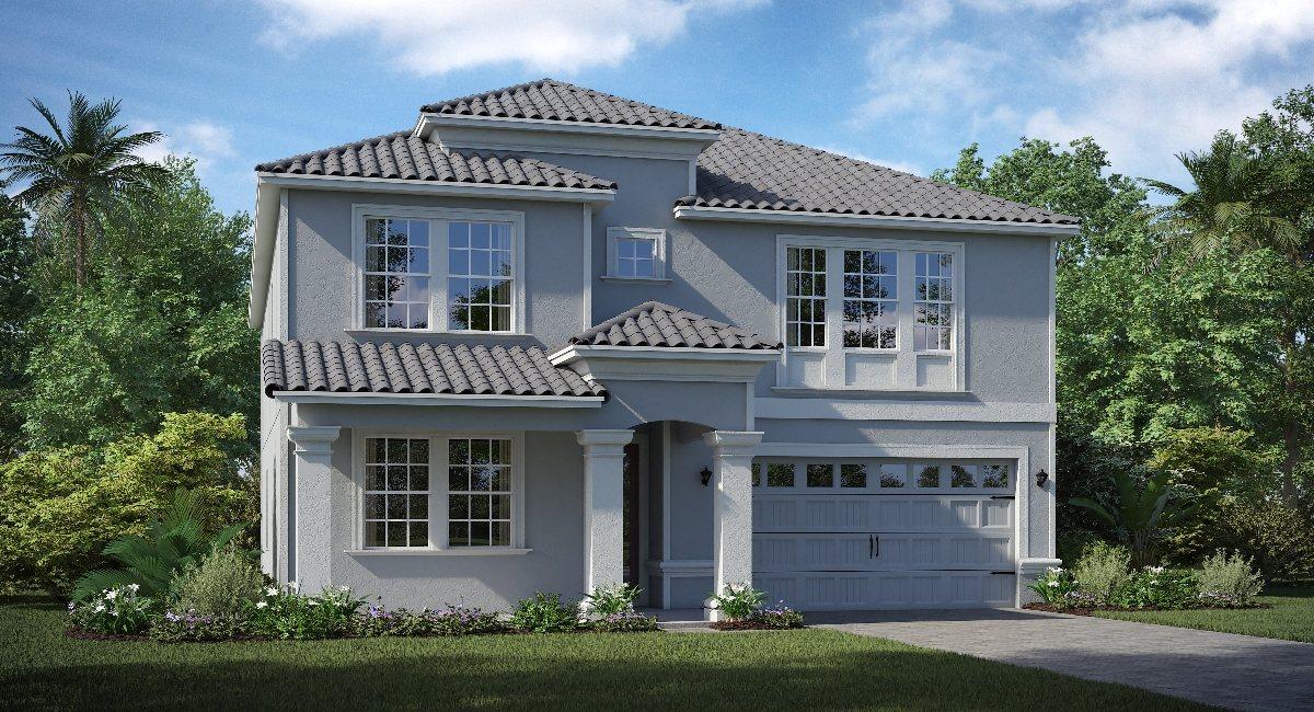 ChampionsGate Florida The/Harwick 3,777 sq. ft. 5 Bedrooms 3 Bathrooms 1 Half bathroom 3 Car Garage