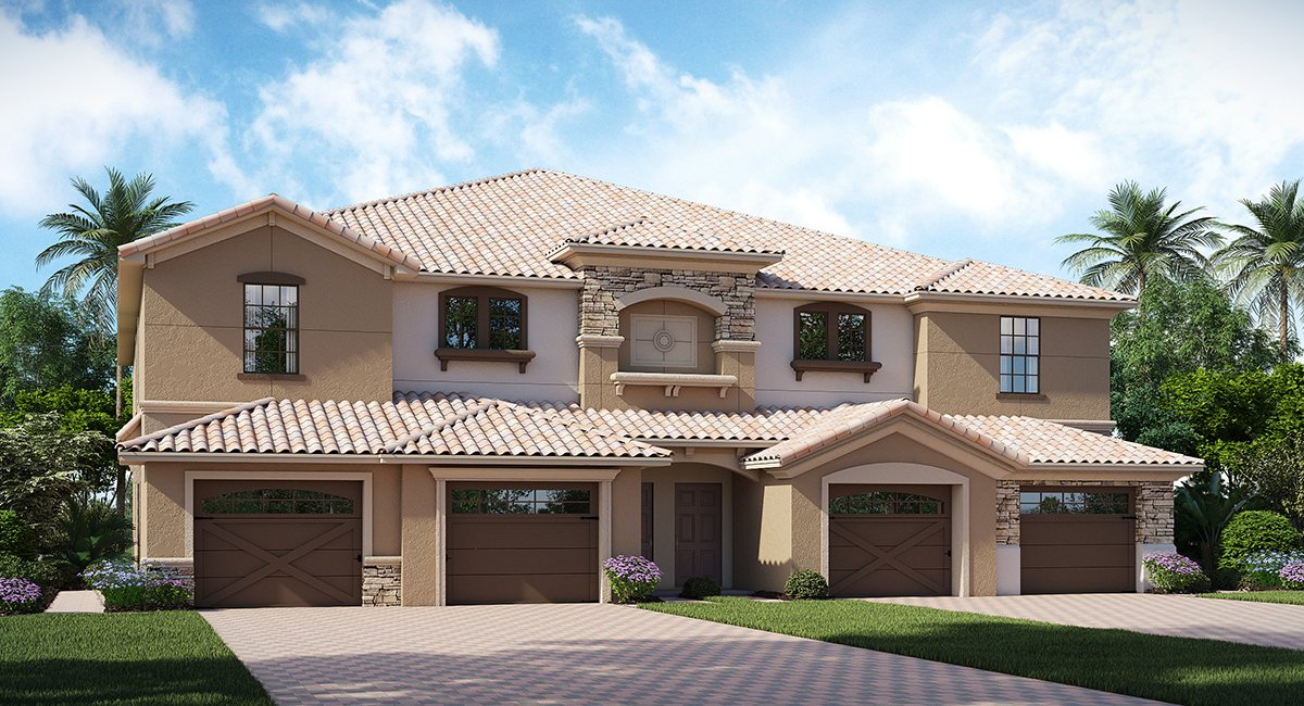 ChampionsGate Florida/The Turnberry 2,025 sq. ft. 3 Bedrooms 2 Bathrooms 1 Car Garage 2 Stories