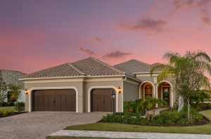 Montecito at Collingtree in Country Club East, Lakewood Ranch by Neal Signature Homes #66B