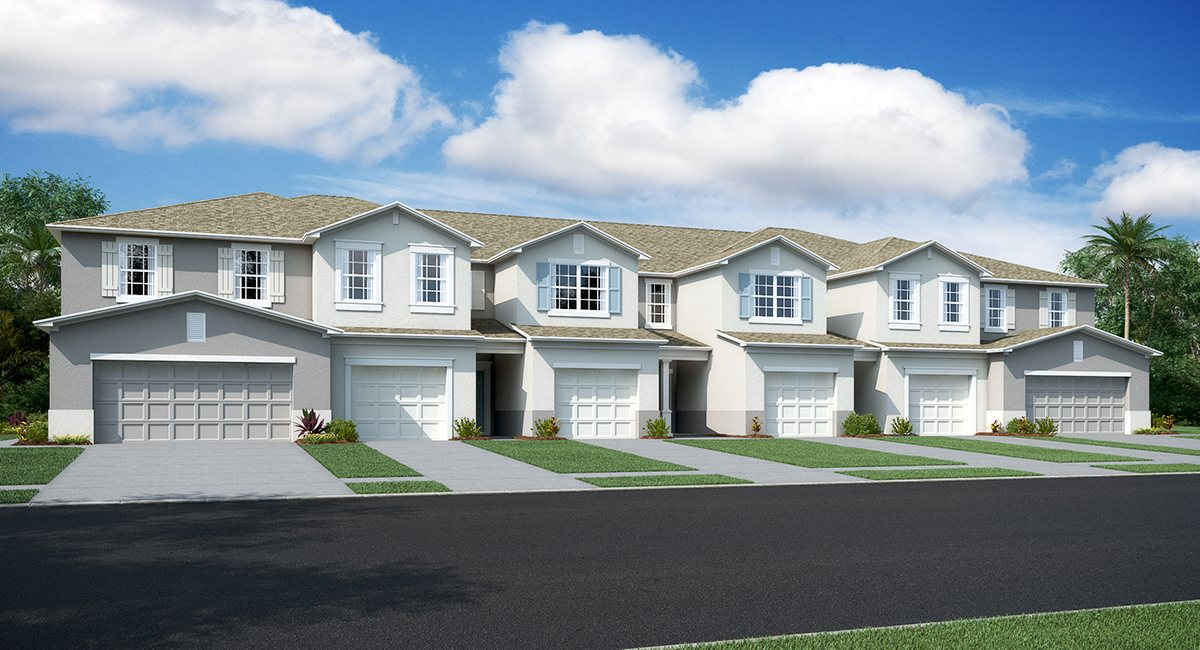 New Town Homes Riverview Florida New Homes Communities
