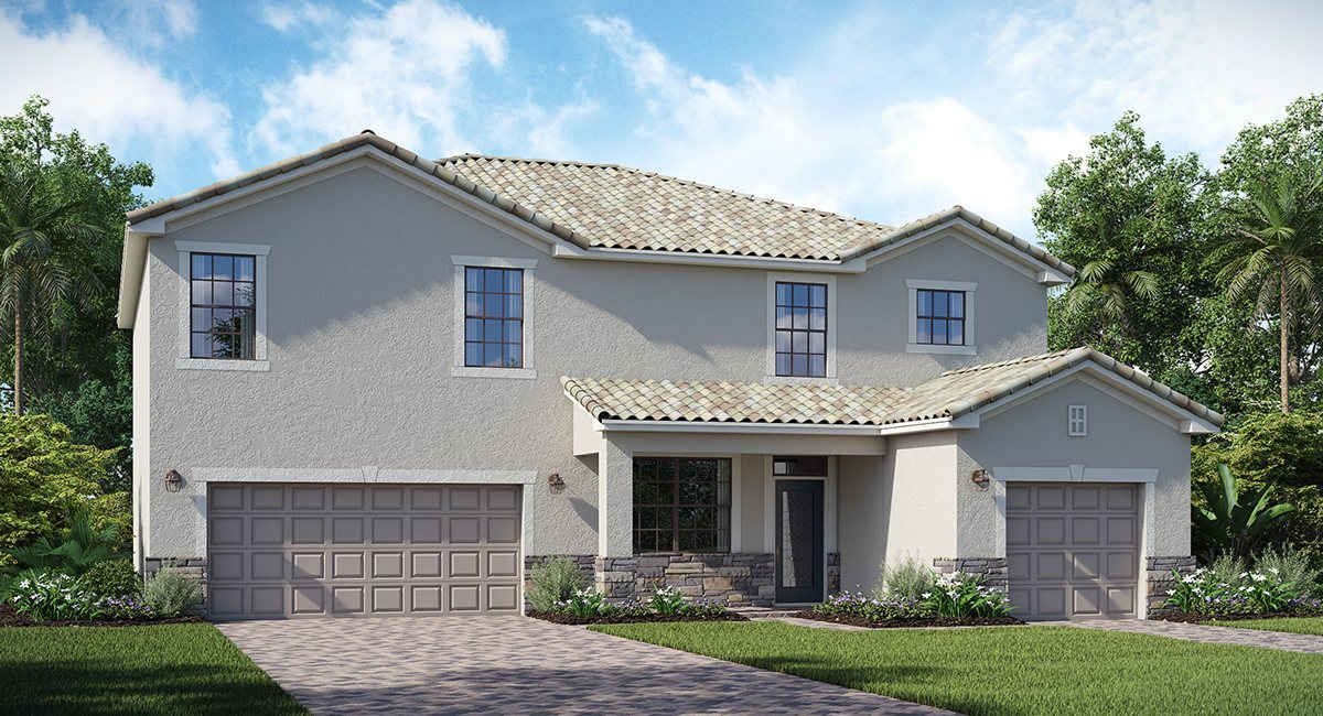 Copperleaf: The Sorrento Lennar Homes Bradenton  Florida New Homes Communities