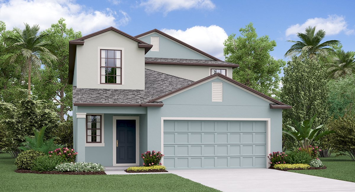 You are currently viewing The Columbia Model Tour Lennar Homes Riverview Florida