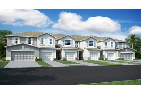 Riverview Lakes Townhomes  American Dream Series Homes   Riverview Florida Real Estate   Riverview Realtor   New Town Homes for Sale