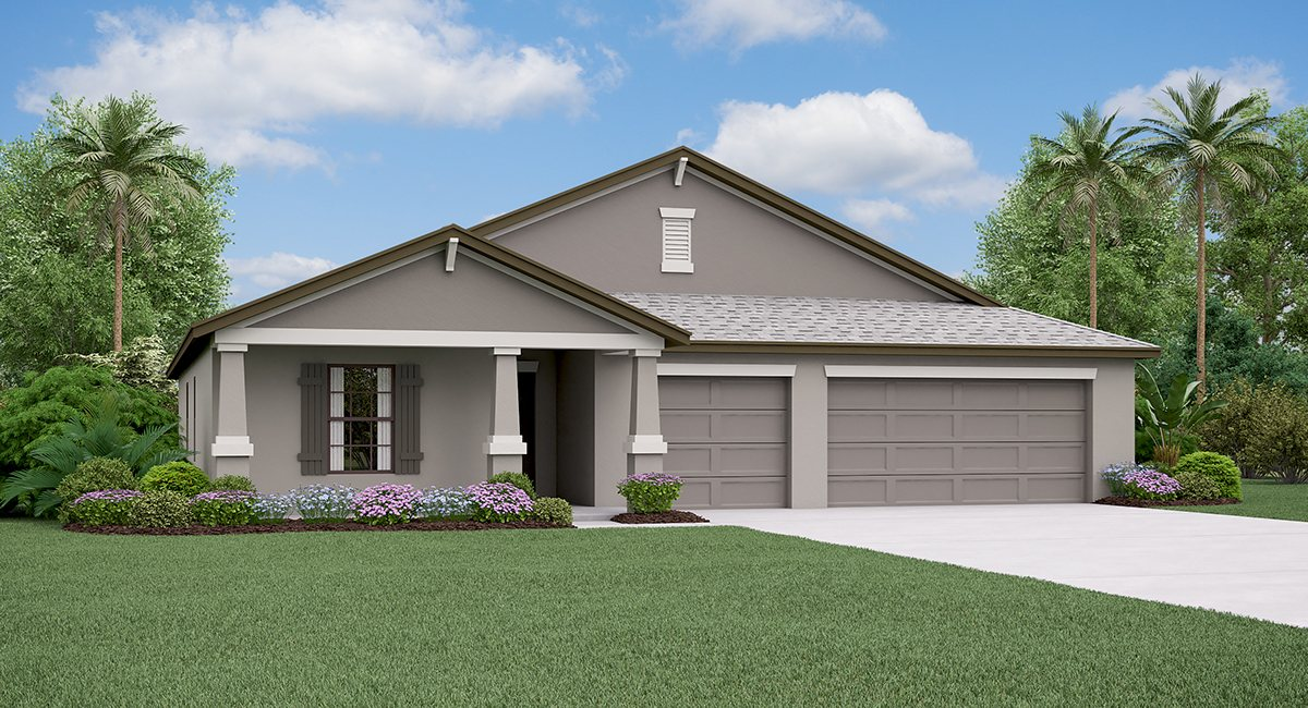 The Santa Fe Model By Lennar Homes Riverview Florida