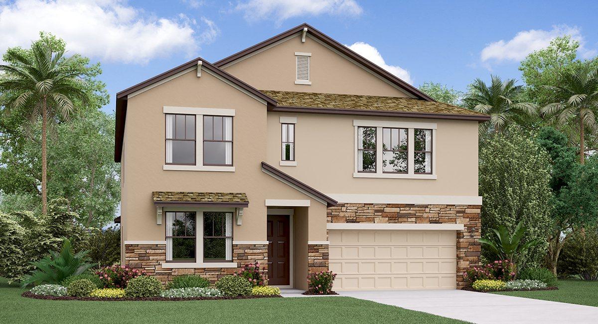 The Virginia Model  Lennar Homes Riverview Florida Real Estate   Ruskin Florida Realtor   New Homes for Sale   Tampa Florida