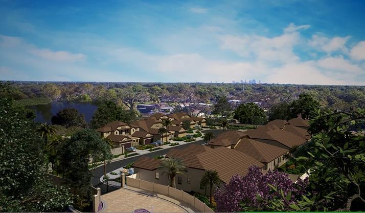 The Villas At Twin Lakes | Tampa Florida Real Estate | Tampa Florida Realtor | New Homes for Sale | Tampa Florida