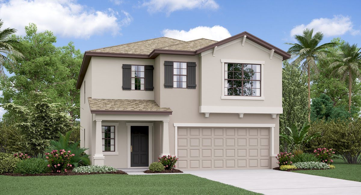 The Concord Model Tour Lennar Homes Heron Pass  Ruskin Florida