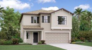 The Concord Model Tour Lennar Homes Heron Pass  Ruskin Florida