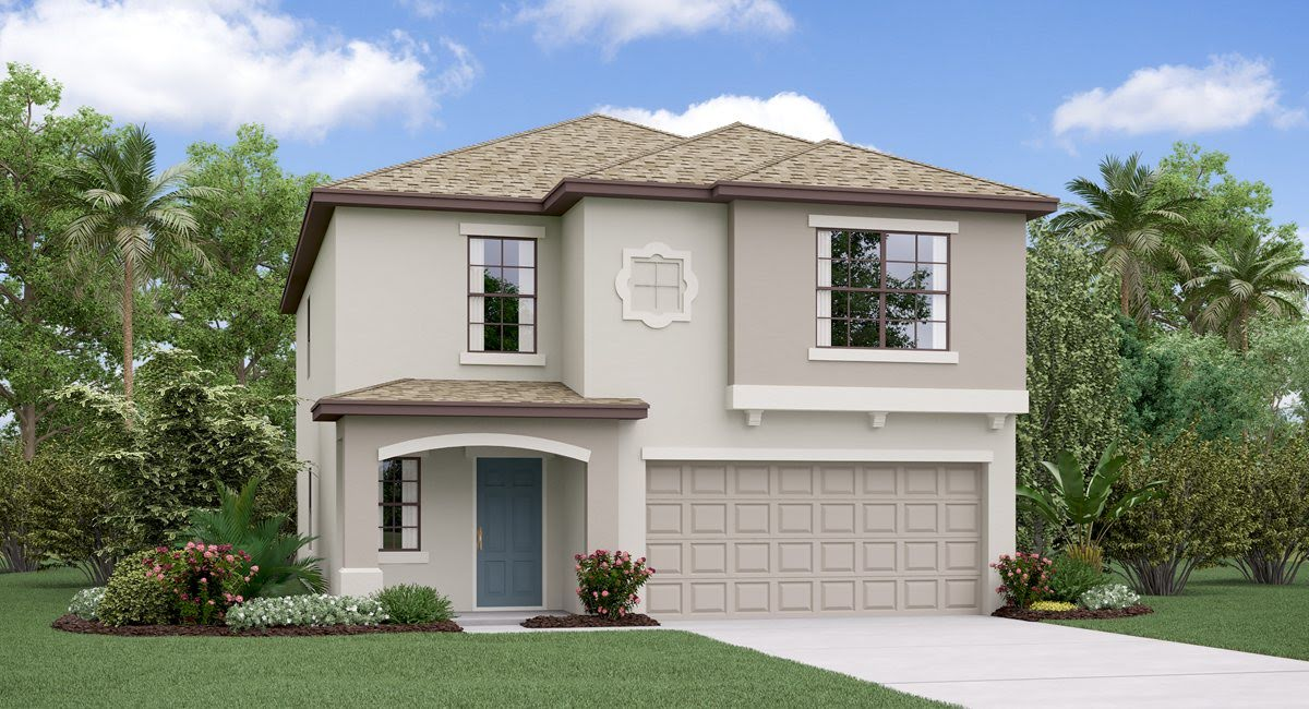 The  Boston Model Tour Lennar Homes Heron Pass  Ruskin Florida