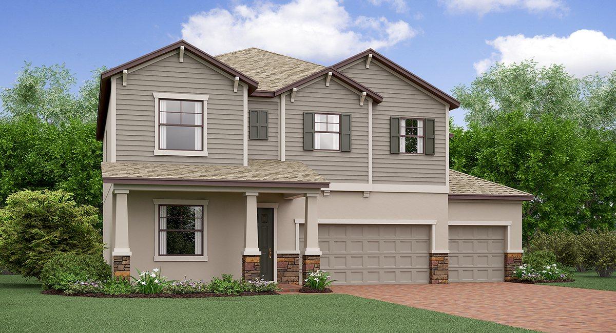 The Colorado Model Tour South Fork Lennar Homes Riverview Florida