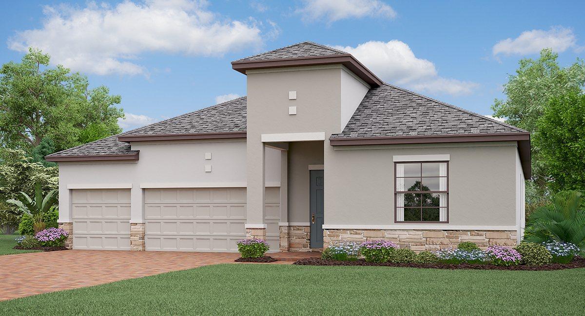 The Kansas Model Tour Lennar Homes Triple Creeks  Riverview Florida