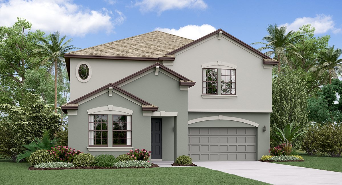 The Vermont  Model Tour Belmont Lennar Homes Ruskin Florida
