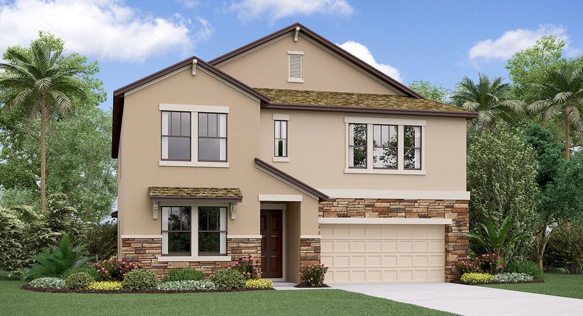 You are currently viewing Crest View Lakes New Home Community Riverview Florida