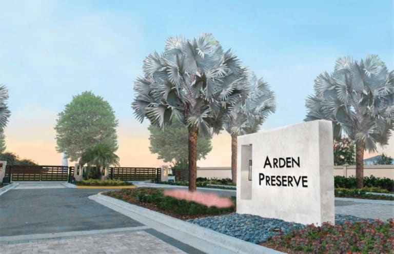 Arden Preserve New Home Community Land O Lakes Florida