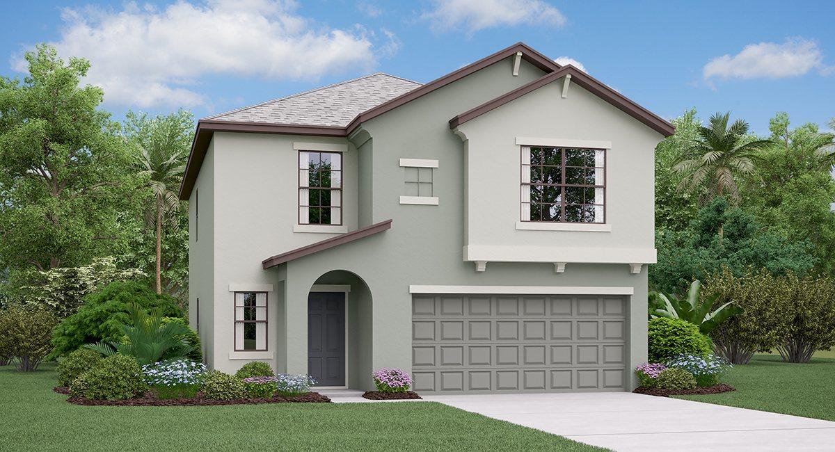 The Boston Model Tour  Lennar Homes Touchstone  Tampa Florida