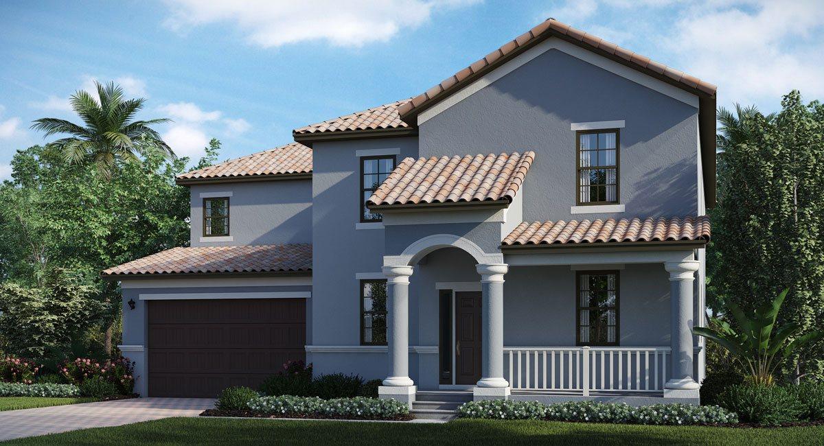 The Brandywine Model Tour Lennar Homes Tampa Florida