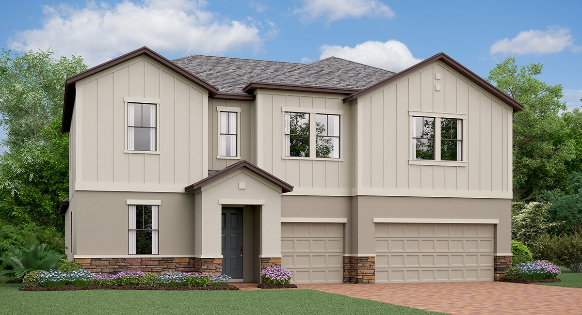 The  California Model Tour Lennar Homes Belmont Ruskin Florida