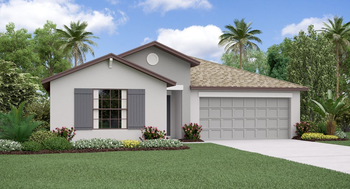 Hidden River New Home Community Zephyrhills Florida