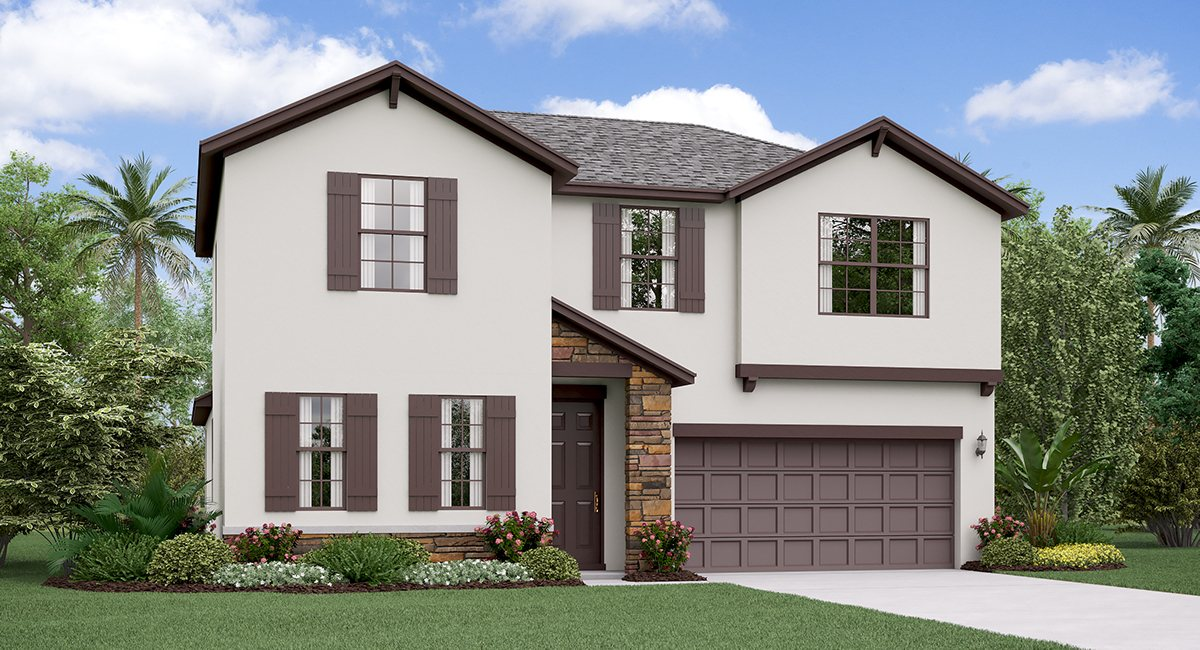 You are currently viewing The Rhode Island  Model Tour Lennar Homes Tampa Florida