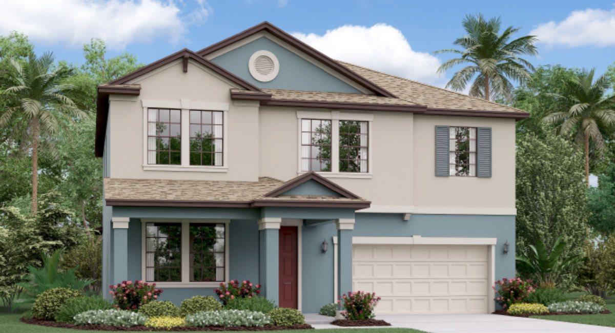 The South Carolina Model Tour Lennar Homes CrestView Lakes  Riverview Florida