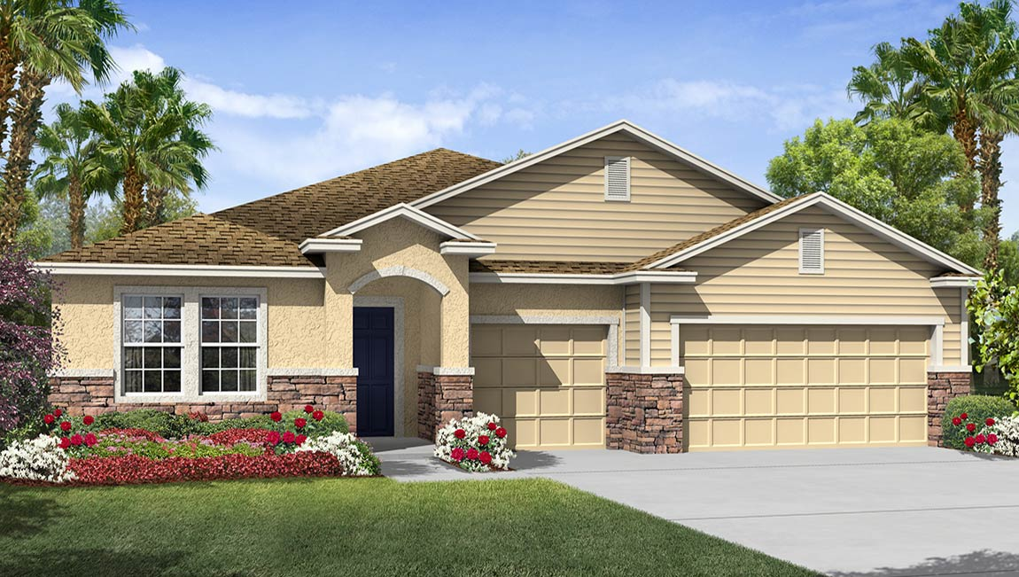 You are currently viewing The Camden Model Tour Next -Gen Homes DR Horton Riverview Florida