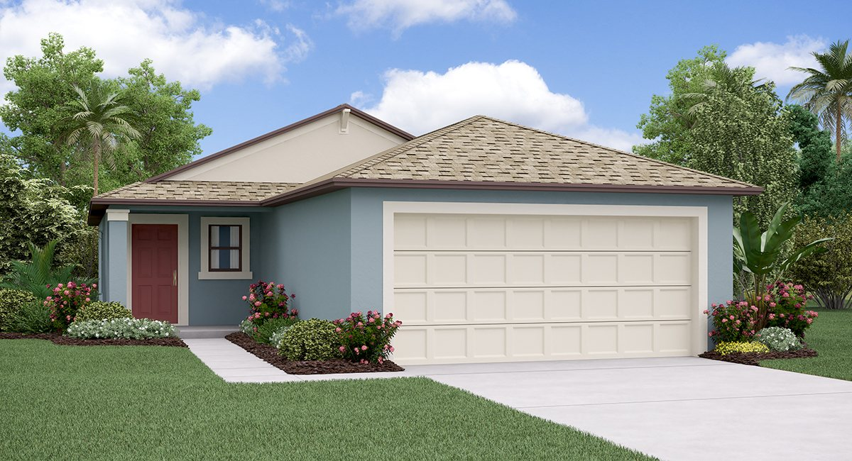 The Albany Model Tour Cypress Mill Lennar Homes  Sun City Center Florida