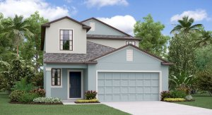 The Columbia  Model Tour Timbercreek  Lennar Homes Riverview Florida
