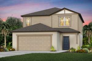The McNair Model Tour North River Ranch Centex Homes Parrish Florida