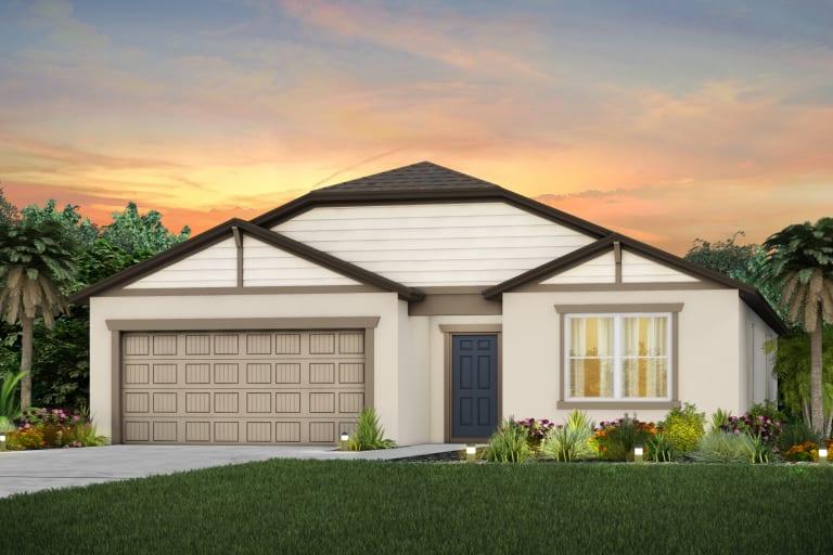 The Seabrook  Model Tour North River Ranch Centex Homes Parrish Florida