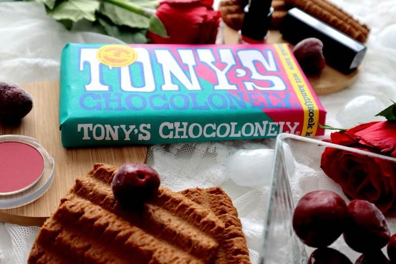 Witte chocolade kandijkoek kers