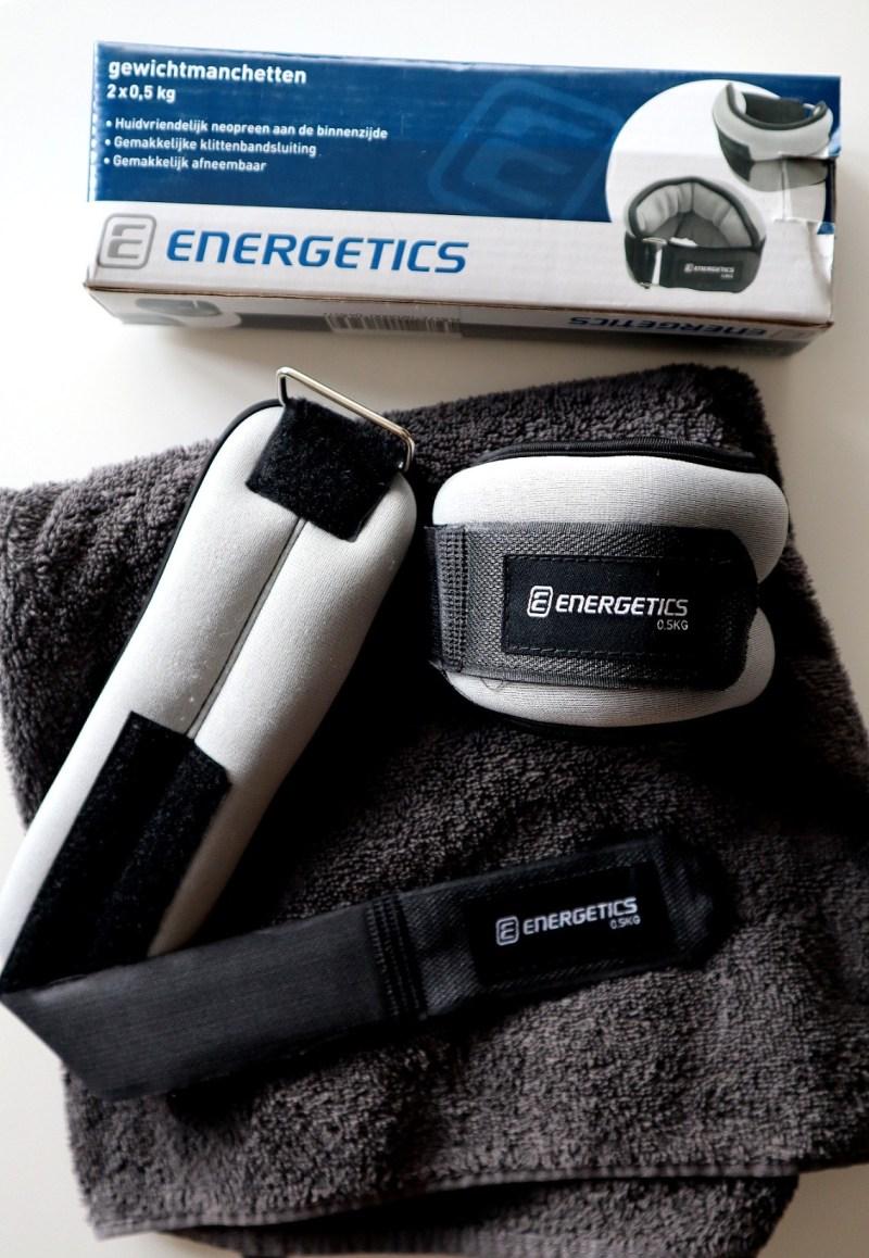 Enkelgewichten - Energetics 0,5k gewichtsmanchetten