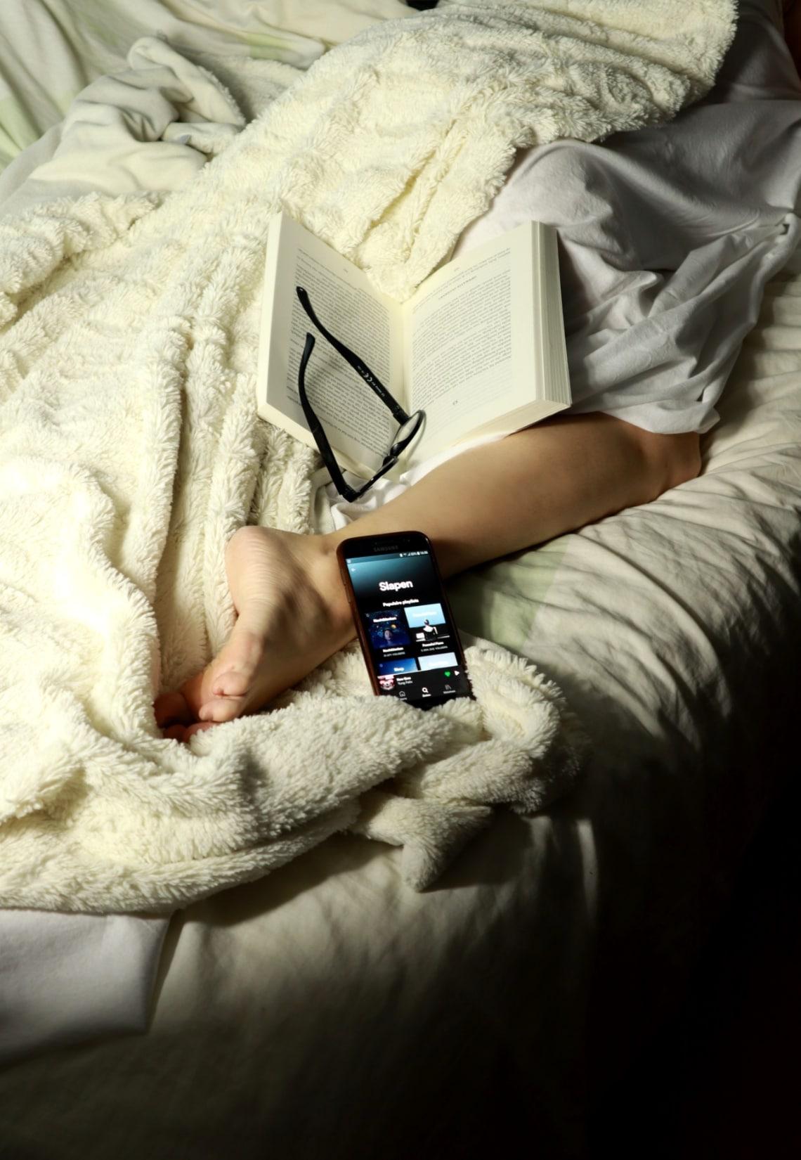8 tips om in slaap te komen