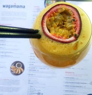 Wagamama Amsterdam Zuid Tropical cocktail