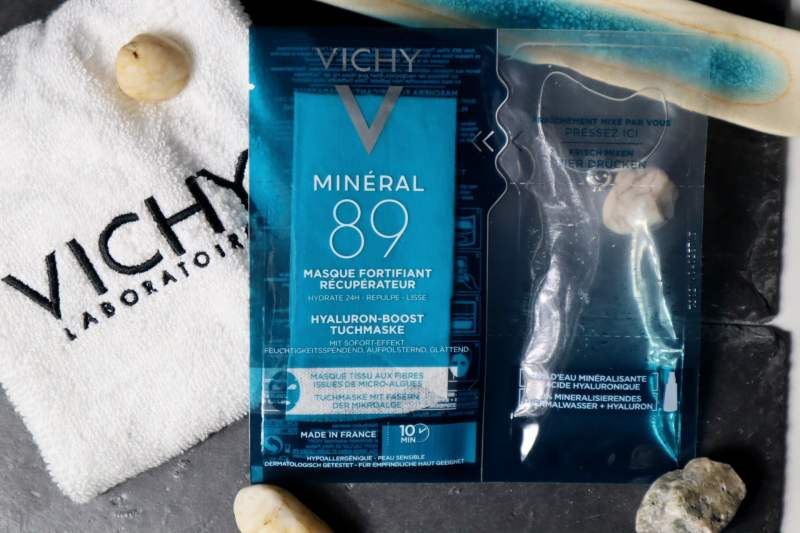 Vichy Minéral 89 Recovery Masker