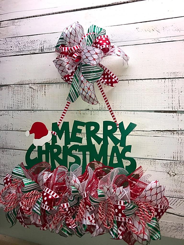 Christmas Door Hanger Christmas Door Dcor Holiday Door