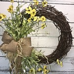 Spring Wreath Rustic Spring Wreath Rustic Wreath For Spring Or Summer Everyday Wreath All Seasons Wreath Spring Summer Wreath Wildflower Wreath Spring Wreath For Front Door Rustic Decor Rustic Decorative Wreath Farmhouse Wreath
