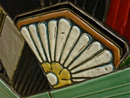 Detail Carew Tower Ceramic Arches Cincinnati Ohio