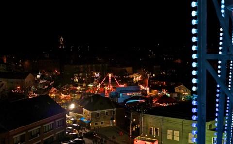 Ferris Wheel St. Peter's Fiesta Gloucester Fujifilm x100