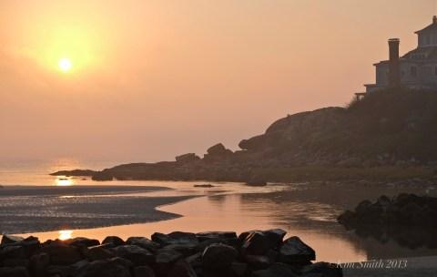 Good H -4arbor Beach Sunrise ©Kim Smith 2013.