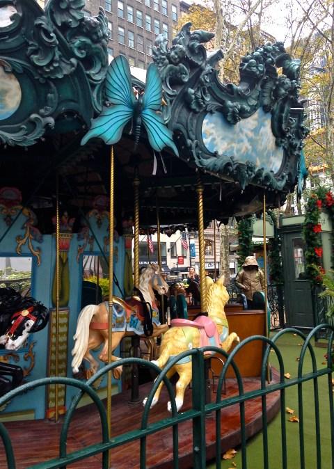 Carousel Liv Bryant park ©Kim Smith 2013