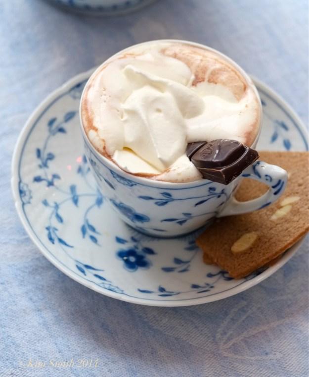 Parisian Hot Chocolate -  ©Kim Smith 2014.