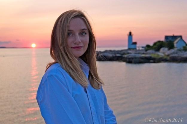 Liv Hauck Lighthouse Beach Gloucester wb ©Kim Smith 2014 -2