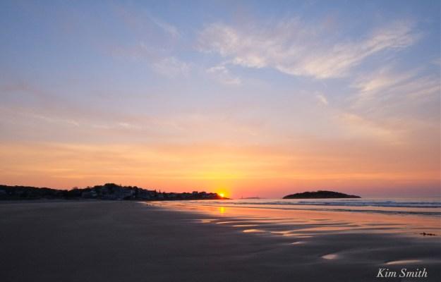 Good Harbor Beach Sunrise Gloucester -3 copyright Kim Smith