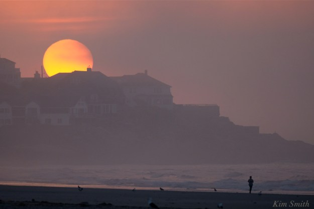 Good Harbor Beach Sunrise -1 copyright Kim Smith