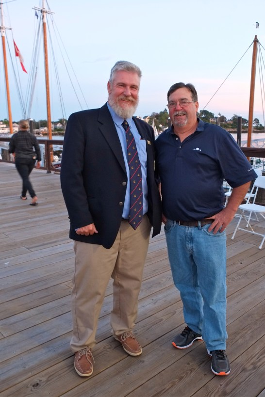 Schooner Festival Mayor Sefatia Rome Theken Reception 2018 copyright Kim Smith - 41